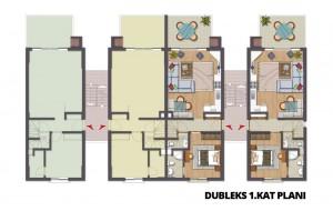 Dubleks 1.Kat Planı
